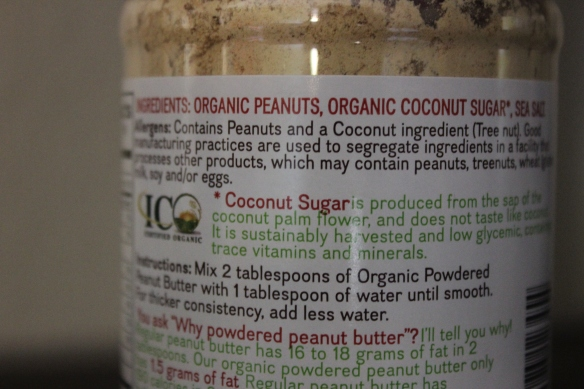 organic peanuts, organic coconut sugar, sea salt